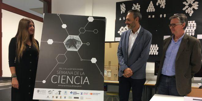 El Cartel de Arantxa Lara anuncia la Semana de la Ciencia del Campus