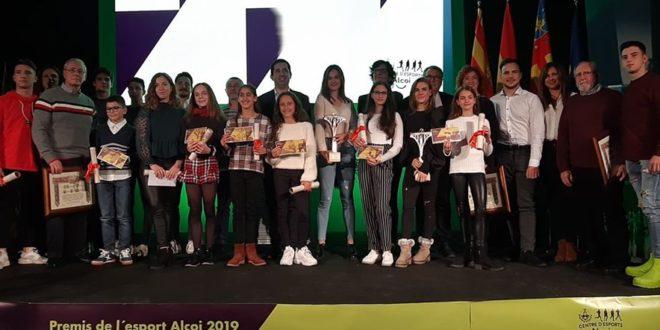 Alcoy rinde homenaje a sus Deportistas