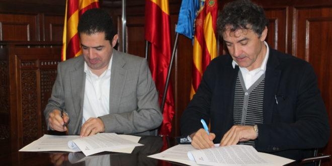 Firmado el convenio para impulsar en Alcoy el CdT de Interior