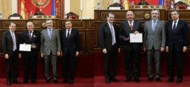 Homenaje a los alcaldes más veteranos de la comarca