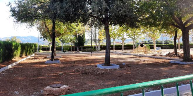 Cocentaina incorporará equipamientos biosaludables en el Parque del Barrio de San Hipólito