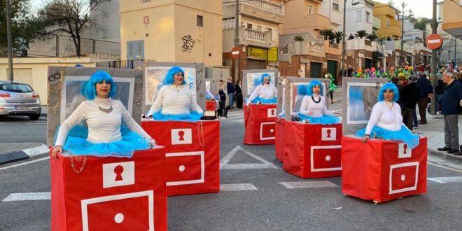 Los escolares fueron protagonistas en el Carnaval de Cocentaina