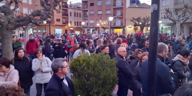 Protesta por el parón en las obras del nuevo Bracal