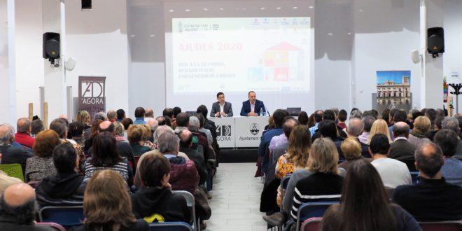 Vivienda presenta en Alcoy las ayudas para la regeneración urbana
