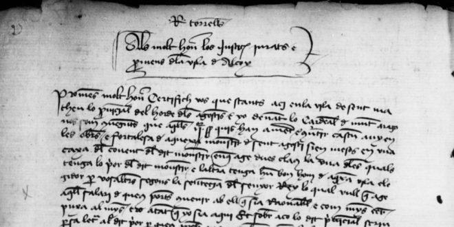 Digitalizados los libros del Gobierno de Alcoy desde 1411 a 1939