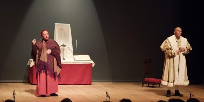 Teló Teatre rindió su particular homenaje a la Mareta