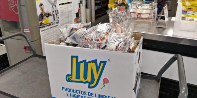 Cotes Baixes dona 50 gafas de protección al Centro de Salud La Bassa de Alcoy