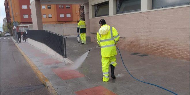 Ibi desinfecta sus calles ante el Coronavirus